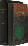 Books:First Editions, [Porter, William Sydney]. O. Henry. Cabbages and Kings. NewYork: McClure, Phillips & Co., 1904. First edition, firs...