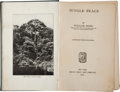 Books:First Editions, William Beebe. Jungle Peace. Illustrated from Photographs.New York: Henry Holt and Company, 1918. First edition. Si...