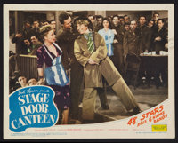 "Stage Door Canteen (United Artists, 1943). Lobby Card (11"" X 14""). Musical"