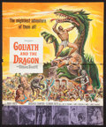 """Movie Posters:Adventure, Goliath and the Barbarians Lot (American International, 1959).Pressbooks (2) (Multiple Pages, 18"""" X 23.5"""" & 15"""" X 20"""").Adv... (Total: 3 Items)"""