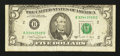 Error Notes:Miscellaneous Errors, Fr. 1980-B $5 1988A Federal Reserve Note. Fine.. ...