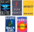 Books:Signed Editions, Dean R. Koontz. Five Signed First Trade Editions, including: Cold Fire. 1991. [and:] Dragon Tears. 1993. ... (Total: 5 Items)