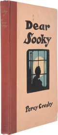 Books:Children's Books, Percy Crosby. Dear Sooky. With Illustrations by the author.New York London: G. P. Putnam's Sons, 1929. Inscri...
