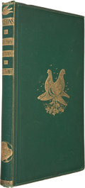 Books:First Editions, W. B. Tegetmeier. Pigeons: Their Structure, Varieties, Habits,and Management. London: George Routledge and Sons...