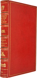 Books:First Editions, [Charles James Apperley] Nimrod. The Chace, the Turf, and theRoad. London: John Murray, 1837. First edition. H...
