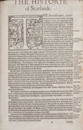 Books:First Editions, [Shakespeare Source Book]. [Raphael Holinshed]. [The Chroniclesof England, Scotlande, and Irelande]. Volumes II and...