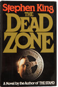 Books:Signed Editions, Stephen King. The Dead Zone. New York: The Viking Press,[1979].. First edition. Octavo. 426 pages. Signed and d...