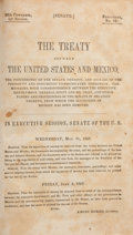 Books:First Editions, [Treaty of Guadalupe Hidalgo]. The Treaty Between the UnitedStates and Mexico....