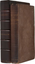 Books:First Editions, Henry Wadsworth Longfellow. The Song of Hiawatha. Boston:Ticknor and Fields, 1855. First edition. Brown cloth w...