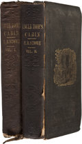 Books:First Editions, Harriet Beecher Stowe. Uncle Tom's Cabin; or, Life Among theLowly. Boston: John P. Jewett & Company, 1852. ... (Total:2 Items)
