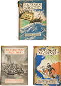 Books:First Editions, Charles Nordhoff and James Norman Hall. Mutiny on the BountyTrilogy Including: Mutiny on the Bounty.... (Total: 3 Items)