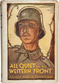 Books:First Editions, Erich Maria Remarque. All Quiet on the Western Front.Boston: Little, Brown, and Company, 1929. First American p...