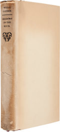 Books:Signed Editions, Willa Cather. Shadows on the Rock. New York: Alfred A. Knopf, 1931. First edition of 619 hand-numbered copies, s...