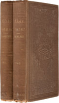 Books:First Editions, Oliver Wendell Holmes. Elsie Venner: A Romance of Destiny.Boston: Ticknor and Fields, 1861. First edition, firs... (Total: 2Items)