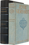 Books:First Editions, Theodore Dreiser. Jennie Gerhardt. New York and London:Harper & Brothers Publishers, 1911. First edition, first iss...