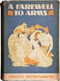 Books:First Editions, Ernest Hemingway. A Farewell to Arms. New York: CharlesScribner's Sons, 1929. First edition, second issue with firs...