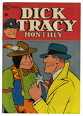 Golden Age (1938-1955):Crime, Dick Tracy Monthly #10 (Dell, 1948) Condition: VF/NM....