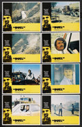 "Movie Posters:Action, Duel (Universal, 1972). Lobby Card Set of 8 (11"" X 14""). Thriller.... (Total: 8 Items)"