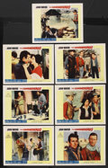 "Movie Posters:Western, The Comancheros (20th Century Fox, 1961). Lobby Cards (7) (11"" X 14""). Western. ... (Total: 7 Items)"