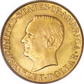 Commemorative Gold: , 1916 G$1 McKinley MS66 PCGS. PCGS Population (569/55). NGC Census:(324/52). Mintage: 9,977. Numismedia Wsl. Price for NGC/...