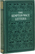 Books:Signed Editions, [Jack London]. The Kempton-Wace Letters. New York: TheMacmillan Company, 1903.. First edition, first issue, w...