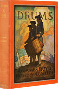 Books:Signed Editions, [N. C. Wyeth, illustrator]. James Boyd. Drums. New York:Charles Scribner's Sons, [1928].. Limited edition of 525 ...