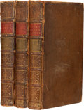 Books:First Editions, [Homer]. [Alexander] Pope, [translator]. The Iliad of Homer.London: Printed by W. Bowyer, for Bernard Lintott, 1715... (Total:3 Items)