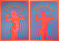Miller Blues Band Concert Poster NR-2 Group (Neon Rose, 1967) Condition: Average NM.... (Total: 2 Items)
