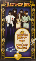 Memorabilia:Poster, Fleetwood Mac Day on the Green Oakland Concert Poster (BillGraham, 1977) Condition: VF....
