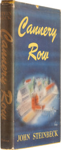 Books:First Editions, John Steinbeck. Cannery Row. New York: The Viking Press,1945. First edition, second issue. Twelvemo. 208 pages. Yel...