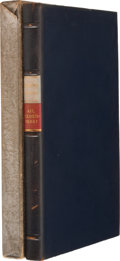Books:Signed Editions, Eugene O'Neill. Ah, Wilderness! New York: Random House,[1933]. First edition limited to 325, of which this is 139....