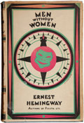 Books:First Editions, Ernest Hemingway. Men Without Women. Stories. London:Jonathan Cape, [1928]. First British edition, first editio...