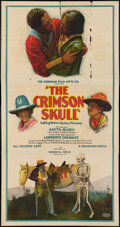 "Movie Posters:Black Films, The Crimson Skull (Norman, 1922). Three Sheet (41"" X 81""). BlackFilms.. ..."