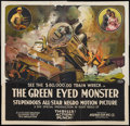 "Movie Posters:Black Films, The Green Eyed Monster (Norman, 1919). Six Sheet (81"" X 81""). BlackFilms.. ..."