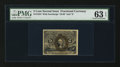 Fractional Currency:Second Issue, Fr. 1234 5¢ Second Issue PMG Choice Uncirculated 63 EPQ.. ...