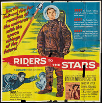 """Riders to the Stars (United Artists, 1954). Six Sheet (81"""" X 81""""). Science Fiction"""