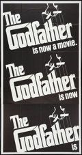 "Movie Posters:Crime, The Godfather (Paramount, 1972). Three Sheet (41"" X 81""). Crime....."