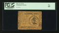 Colonial Notes:Continental Congress Issues, Continental Currency May 10, 1775 $3 PCGS Fine 15.. ...