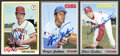 Autographs:Sports Cards, Baseball Hall Of Famer Pitchers Signed Baseball Cards Lot Of 3....