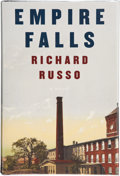Books:Signed Editions, Richard Russo. Empire Falls. New York: Alfred A. Knopf, 2001. First edition. Signed by the author on the title pag...