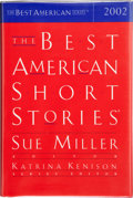 Books:Signed Editions, Sue Miller and Katrina Kenison. The Best American Short Stories 2002. Selected from U.S. and Canadian Magazines....