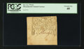 Colonial Notes:Massachusetts, Massachusetts October 16, 1778 2d PCGS Extremely Fine 40.. ...