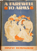 Books:First Editions, Ernest Hemingway. A Farewell to Arms. New York: CharlesScribner's Sons, 1929.. First trade edition, first iss...