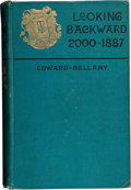 Books:First Editions, Edward Bellamy. Looking Backward 2000-1887. Boston: Ticknorand Company, 1888.. First edition, first issue (with t...