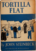 Books:First Editions, John Steinbeck. Tortilla Flat. New York: Covici-Friede,[1935].. Advance reading copy, reportedly one of only ...