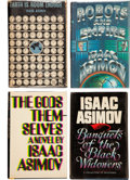 Books:Signed Editions, Isaac Asimov. Four Signed First Editions, including: Earth isRoom Enough. Science Fiction Tales of Our Own Planet...(Total: 4 Items)
