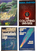 Books:Signed Editions, Isaac Asimov. Four Inscribed, Signed, and Dated Books, including:Robots and Empire. West Bloomfield, Michigan: ... (Total: 4Items)