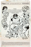 Original Comic Art:Splash Pages, Sal Buscema Incredible Hulk #253 Splash Page 1 Original Art(Marvel, 1980)....