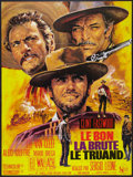 """Movie Posters:Western, The Good, the Bad and the Ugly (United Artists, R-1970s). FrenchGrande (46"""" X 61""""). Western.. ..."""
