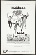 "Movie Posters:Rock and Roll, Head (Columbia, 1968). Pressbook (Multiple Pages, 11"" X 17""). Rockand Roll.. ..."